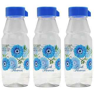 GPET Fridge Water Bottles Rose 500 ml Blue  Set of 3