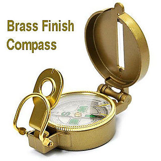 Brass Finish Compass Best Quality enjoy using the paper and compass hunting meth