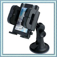 Universal Car Mount Mobile Phone Holder In Black