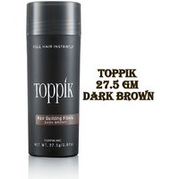 Toppik Hair Building Fiber New Bottle 27.5Gm Dark Brown
