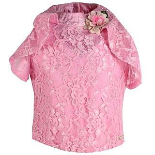 CUTECUMBER Pink Girls Top