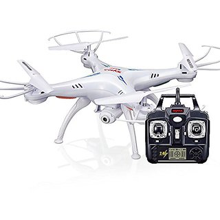 Syma X5C-1 Selfie Drone 2.4G 4CH 6-Axis Gyro RC Headless Quadcopter with Wifi Camera First Person View (FPV)