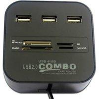 Gadget Guruz USB HUB Combo Card Reader