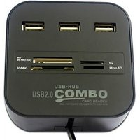 USB HUB Combo +Card Reader
