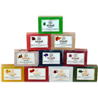Khadi Certified Soaps - 125 Gms Each - Pack Of 3 Assorted