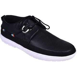 ba84f8ef68f065 Buy Messi Men Black Lace-up Casual Shoes Online - Get 67% Off