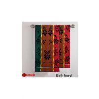 Deal Wala 1 Piece Of Multi Color Bath Towel - Hh31