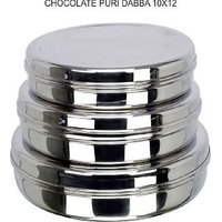 Grish Stainless Steel CHOCOLATE DABBA  Set Of 4