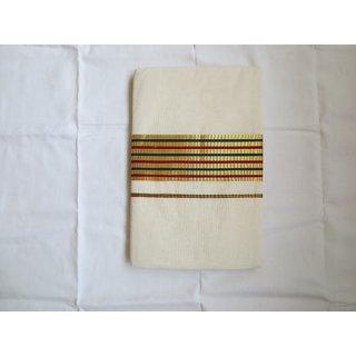 Traditional Indian Kerala Kasavu Sarees  Item code SP1061