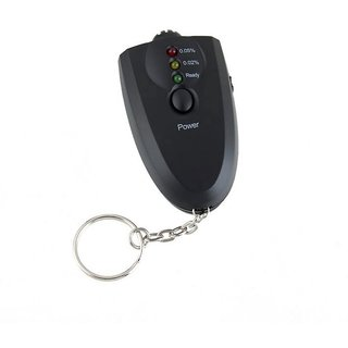Futaba LED Alcohol Breath Tester Portable Keychain