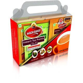 Wagh Bakri Instant Combo Premix - 168 g Carton Pack - Added Sugar
