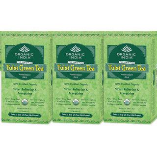 Organic India Green Tea Bag - Pack Of 3