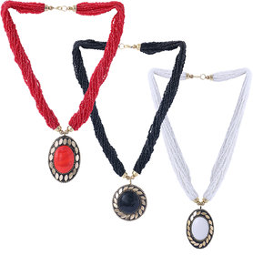 Pretty Necklaces For Girls and Womens(Combo of 3-003)