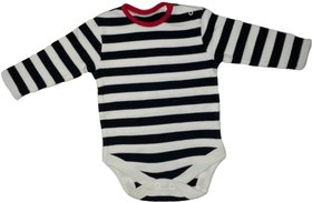Baby Boy or Baby Girl Striped Romper