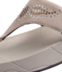 Cyke Women's Black Flip Flops