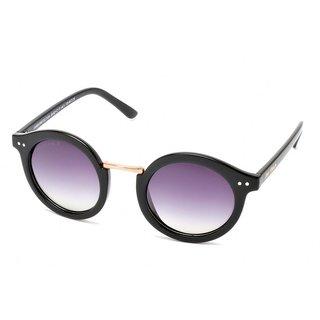 Joe Black JB-821-C1P Purple Round Sunglasses