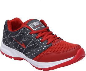 Look Hook Aerofax Men Red Lace-up Training Shoes