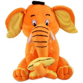 Elephant Playing With Banana Stuff Toy