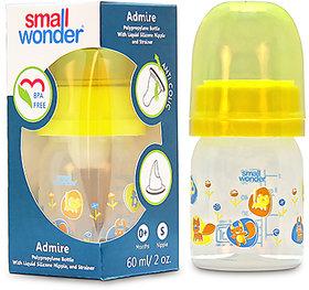 Small Wonder BPA Free Admire Baby Feeding Bottle  60 ml
