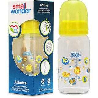 Small Wonder BPA Free Admire Baby Feeding Bottle  125 ml