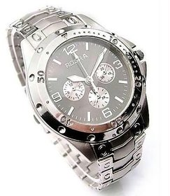 Rosra Stylish Wrist Watch for Men Silver