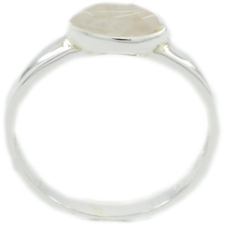 Rose Quartz 925 Sterling Silver Ring  Pink  Indian gift SRROQ-68327