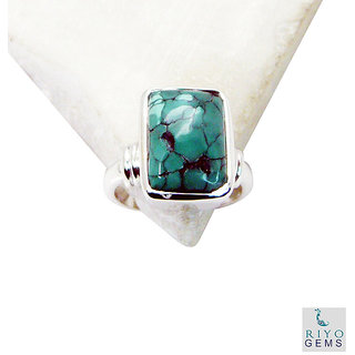 Turquoise 925 Sterling Silver Ring  Multicolor  Indian gift SRTUR6-82008
