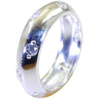 Crystal Quartz 925 Sterling Silver Ring hot White jaipur Indian gift SRCQU60-18002