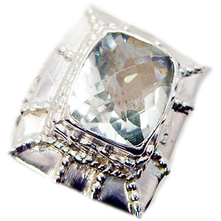 Green Amethyst 925 Sterling Silver Ring pleasing Green wholesale Indian gift SRGAM-28318