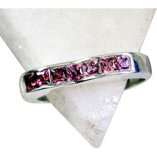 Garnet  925 Sterling Silver Ring sightly Red suppiler Indian gift SRGAR7.5-26138