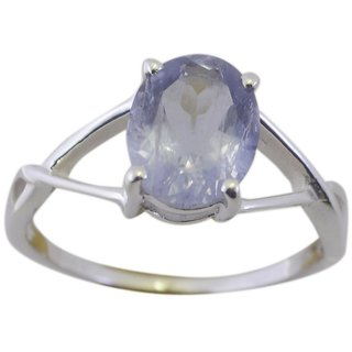 Iolite 925 Sterling Silver Ring beauteous Blue jewelry Indian gift SRIOL80-38113