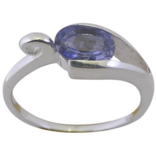 Iolite 925 Sterling Silver Ring gorgeous Blue gemstone Indian gift SRIOL80-38114