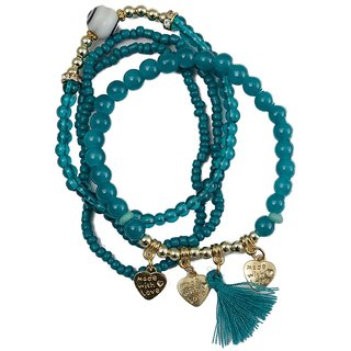 Taj Pearl Designer Stylish Multicolor Bracelet
