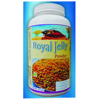 Hawaiian Herbal, Hawaii,USA - ROYAL JELLY POWDER - 200 gm (Buy any Healthcare Supplement  Get the Same Drops Free)