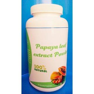 Hawaiian Herbal, Hawaii,USA - PAPAYA LEAF EXTRACT POWDER - 200 gm (Buy any Healthcare Supplement  Get the Same Drops Free)