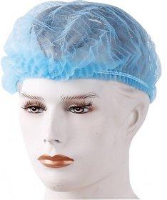 Disposable Non Woven Bouffant Surgical Head Cap (100 Piece)-Flumask