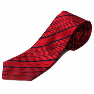 Blacksmithh Maroon Mens Silk Tie