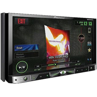 pioneer avh  bt   touch screen panel display dvd player double din prices