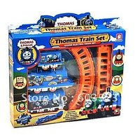 Pack Of 10 Thomas Train Battery Operated Mini Train Set - Perfect For Kids Bday Return Gift