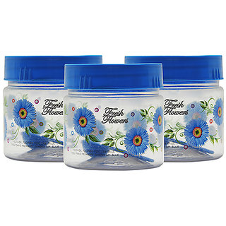 GPET Print Magic Container 250 ml  Blue ( Pack of 3)