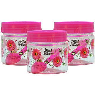 GPET Print Magic Container 250 ml  Pink (Pack of 3)