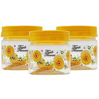 GPET Print Magic Container 250 ml  Yellow (Pack of 3)