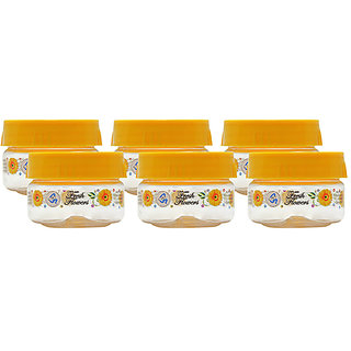 GPET Print Magic Container 50 ml  Yellow (Pack Of 6 )