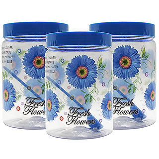 GPET Print Magic Container 2000 ml  Blue (Pack of 3)