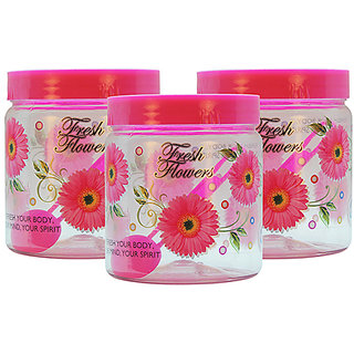 GPET Print Magic Container 1500 ml  Pink (Pack of 3)