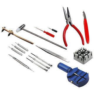 16 Pcs Set Adjust Pin Tools Kit Back Remover Repair Kits Wrist Strapm