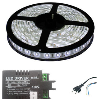 LED Strip Light in White Colour With LED Driver