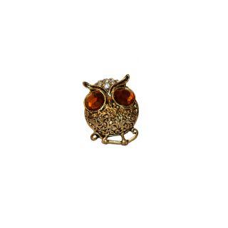 Women Trendz Brown Gold Polish Ring For Women (Design 2)