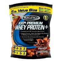 Muscletech 100% Premium Whey Protein Plus 5lb Chocolate