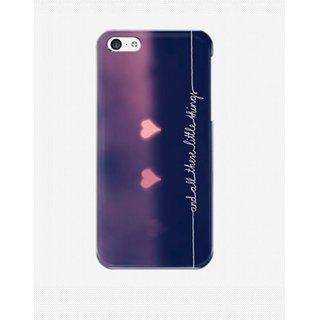 One direction 1D sweet love Back Cover Case for Apple iPhone 5C Purple